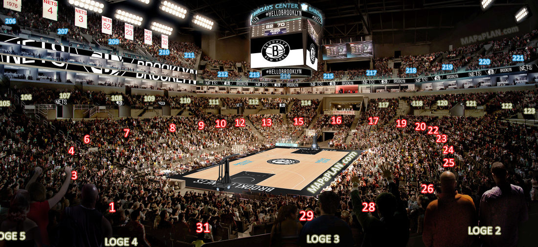 Barclays Center Seating Chart picture