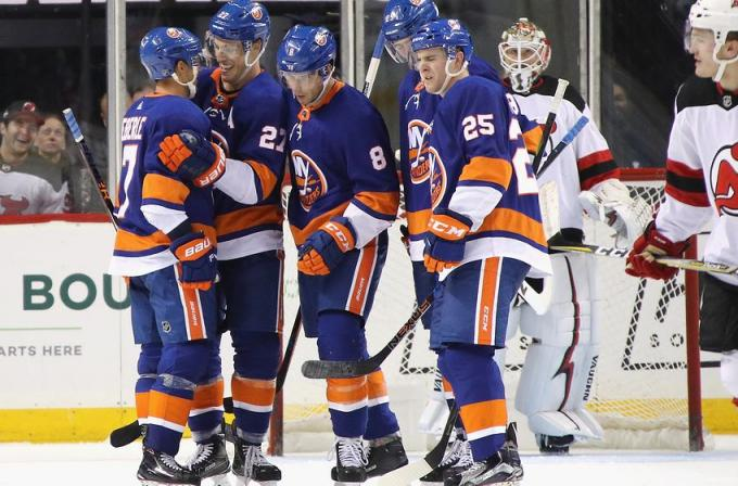 NHL Eastern Conference Second Round: New York Islanders vs. TBD - Home Game 1 (Date: TBD - If Necessary) at Barclays Center