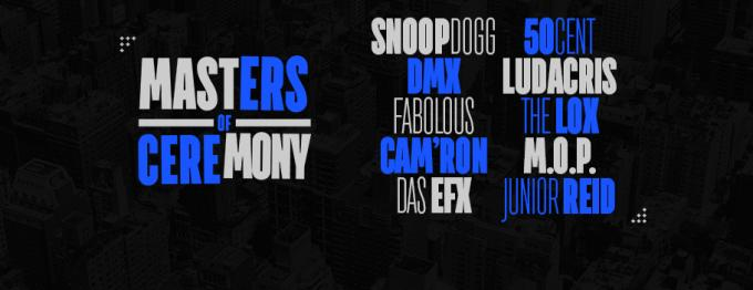 Masters of Ceremony: Snoop Dogg, 50 Cent, DMX & Ludacris at Barclays Center