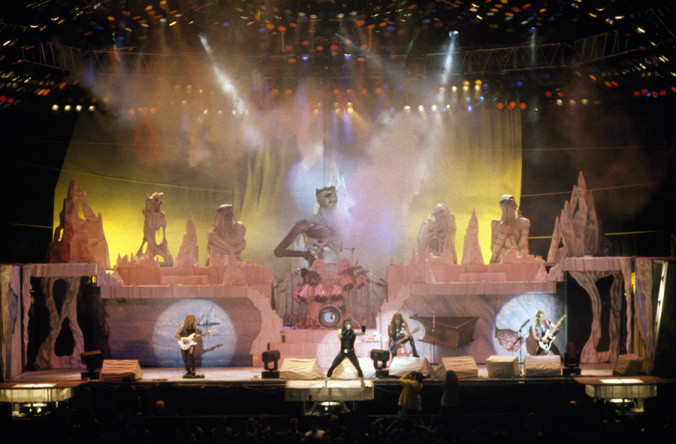 Iron Maiden at Barclays Center