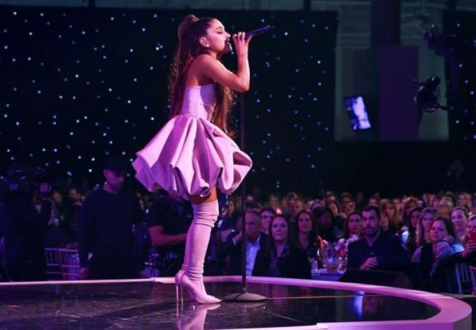 Ariana Grande at Barclays Center