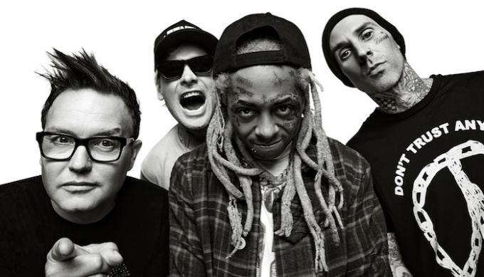 Blink 182 & Lil Wayne at Barclays Center