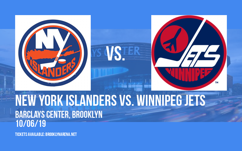 New York Islanders vs. Winnipeg Jets at Barclays Center