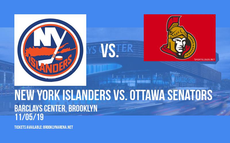 New York Islanders vs. Ottawa Senators at Barclays Center