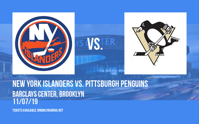 New York Islanders vs. Pittsburgh Penguins at Barclays Center