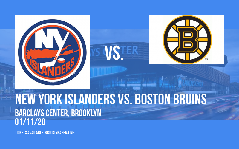 New York Islanders vs. Boston Bruins at Barclays Center