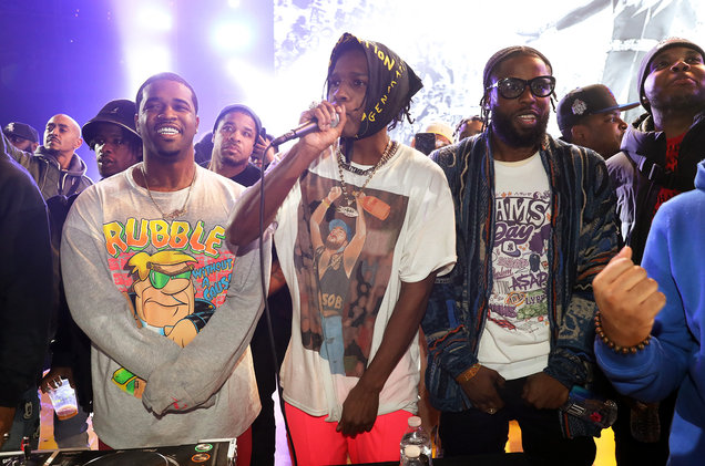 Yams Day: ASAP Rocky & ASAP Mob at Barclays Center