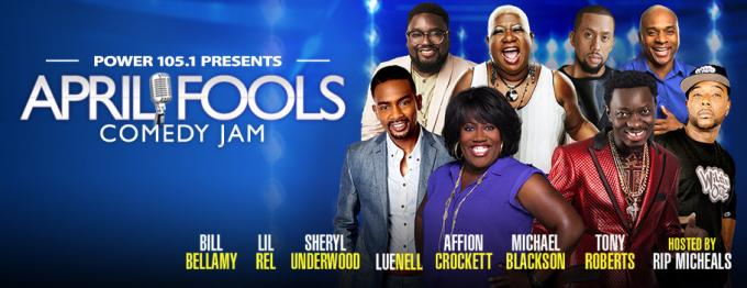 April Fool's Comedy Jam at Barclays Center