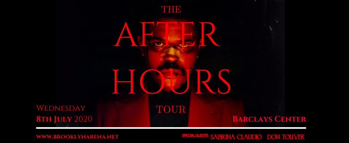 The Weeknd, Sabrina Claudio & Don Toliver at Barclays Center