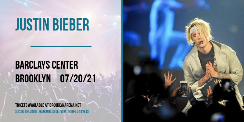 Justin Bieber at Barclays Center