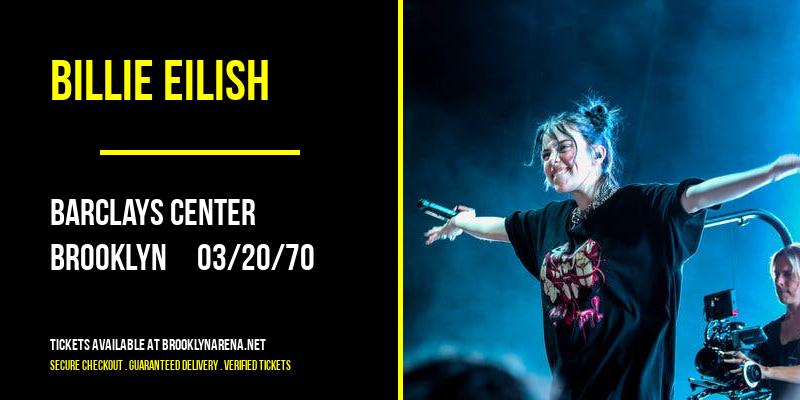 Billie Eilish [CANCELLED] at Barclays Center
