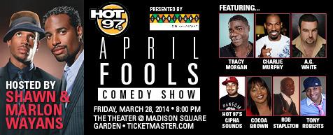 April Fool's Comedy Jam at Barclays Center