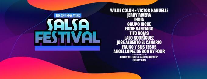 New York Salsa Festival: Willie Colon, Victor Manuelle, Jerry Rivera & Grupo Niche at Barclays Center