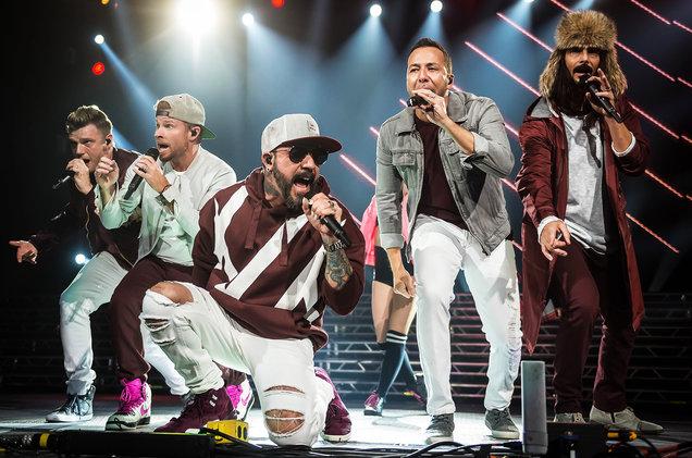 Backstreet Boys at Barclays Center