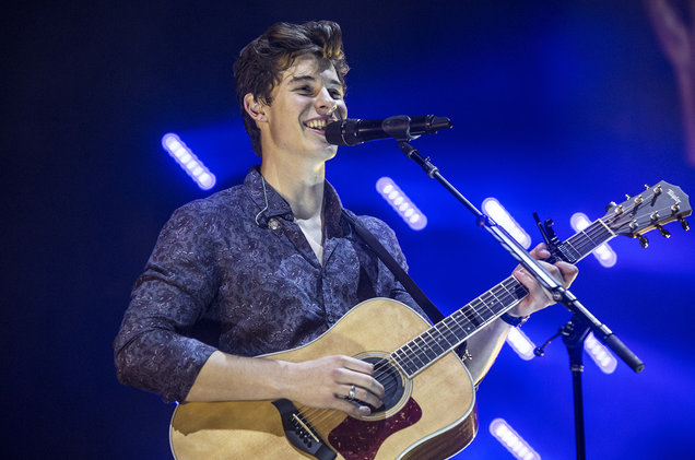 Shawn Mendes at Barclays Center