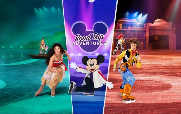 Disney On Ice: Road Trip Adventures at Barclays Center
