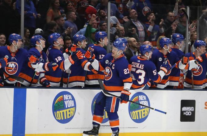 New York Islanders vs. Winnipeg Jets at Barclays Center