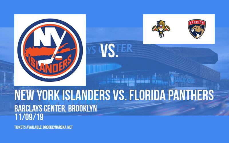 New York Islanders vs. Florida Panthers at Barclays Center