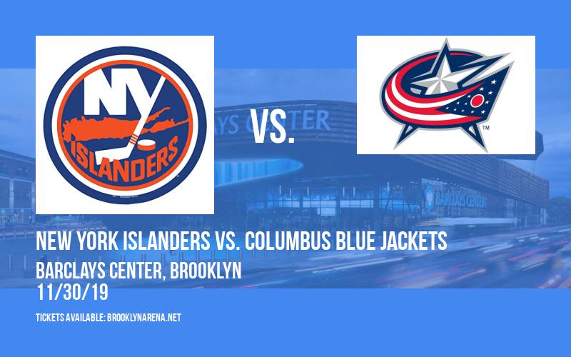 New York Islanders vs. Columbus Blue Jackets at Barclays Center
