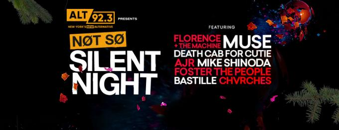 ALT 92.3's Not So Silent Night at Barclays Center