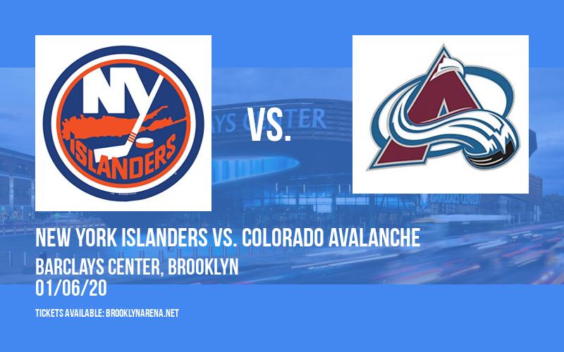 New York Islanders vs. Colorado Avalanche at Barclays Center