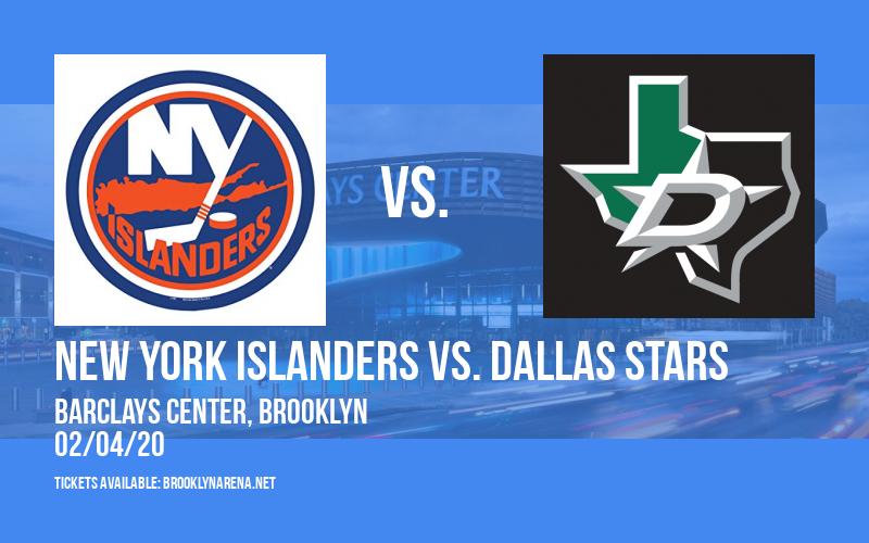 New York Islanders vs. Dallas Stars at Barclays Center