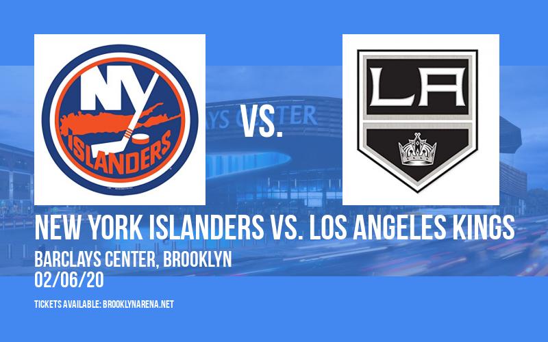 New York Islanders vs. Los Angeles Kings at Barclays Center