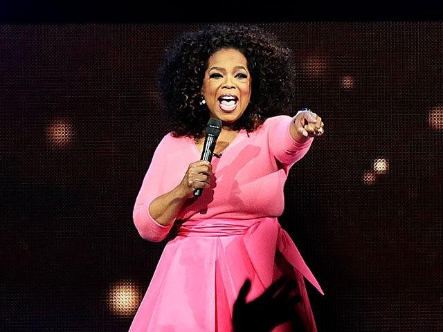Oprah Winfrey at Barclays Center