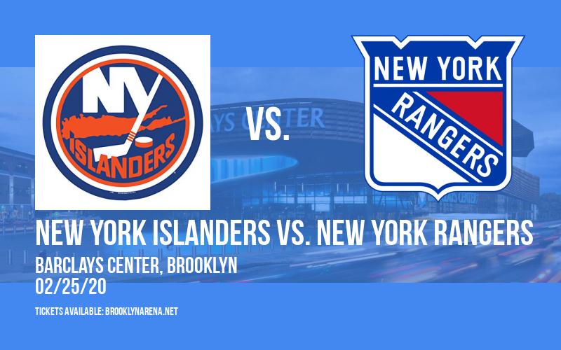 New York Islanders vs. New York Rangers at Barclays Center