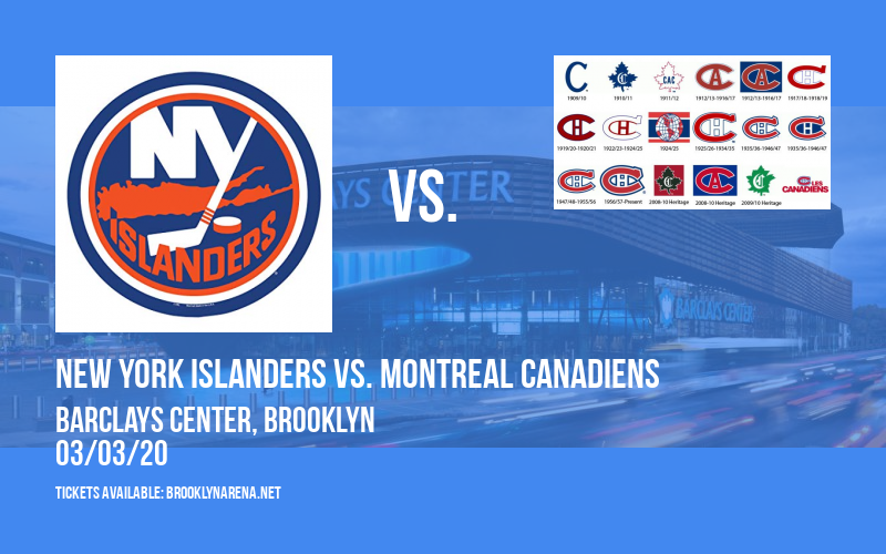 New York Islanders vs. Montreal Canadiens at Barclays Center