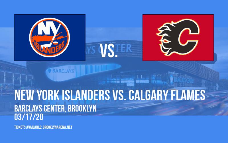 New York Islanders vs. Calgary Flames at Barclays Center