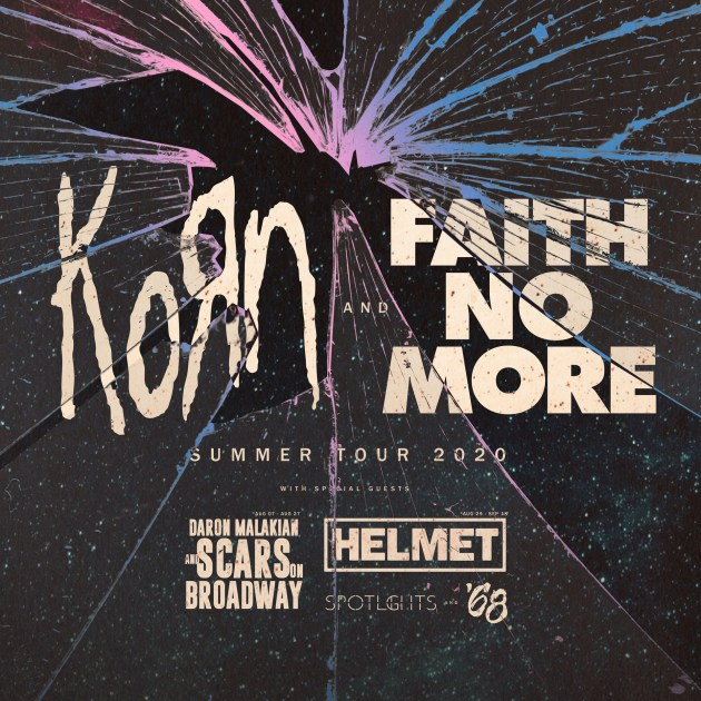 Korn, Faith No More, Helmet & '68 at Barclays Center