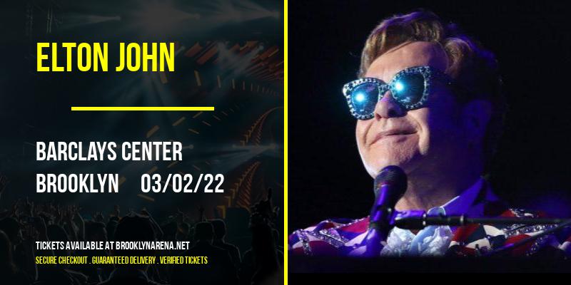 Elton John at Barclays Center